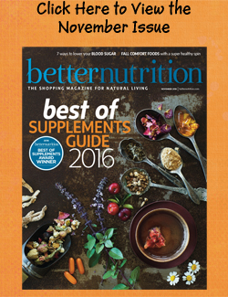 October Better Nutrition Magazine is now available